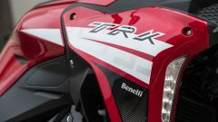 Benelli TRK 251: le frecce a LED