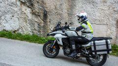 Benelli TRK 502: nonostante la mole, è facile da guidare