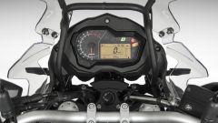 Benelli TRK 502, quadro strumenti