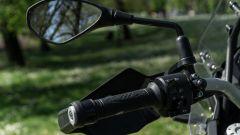 Benelli TRK 502 X: blocchetto elettrico sinistro