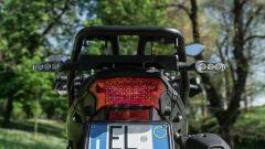 Benelli TRK 502 X: il gruppo ottico posteriore