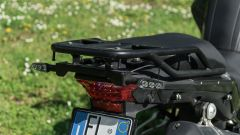 Benelli TRK 502 X: il portapacchi