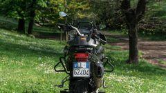 Benelli TRK 502 X: vista posteriore