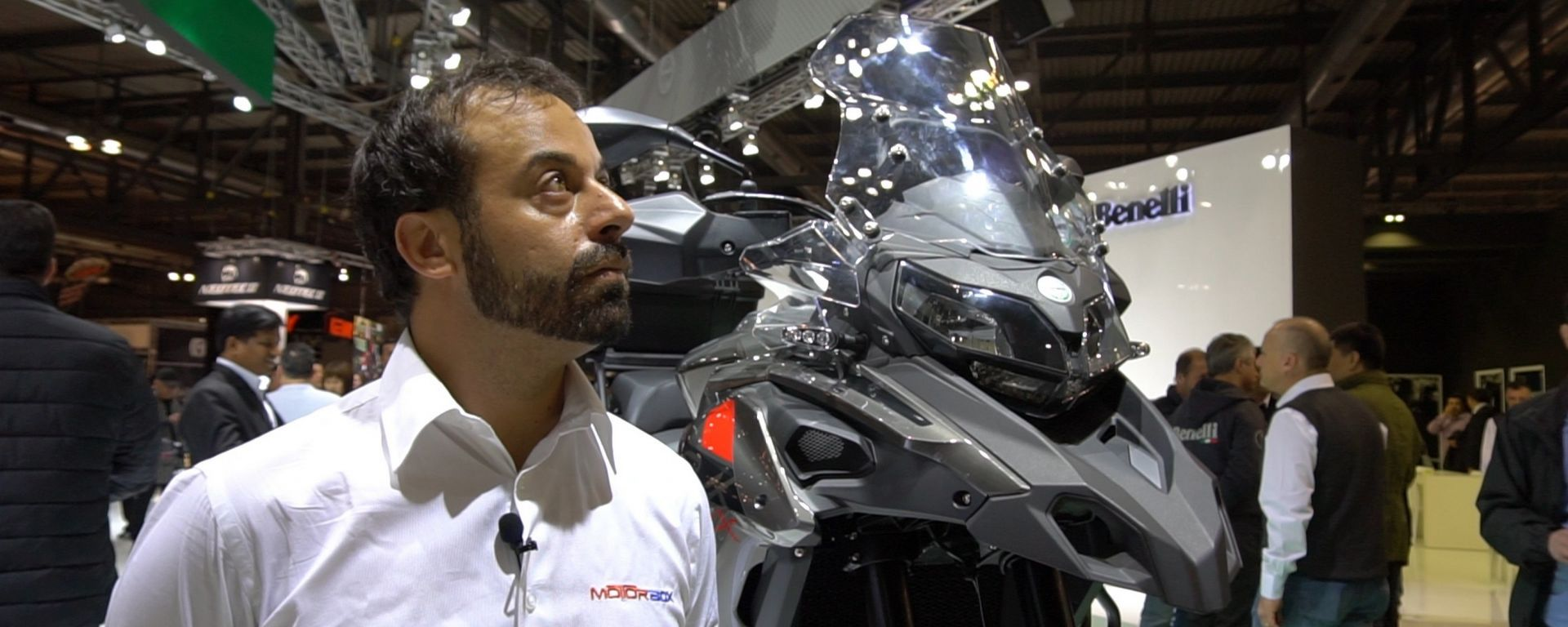 Benelli TRK 502X, pronta per il fuoristrada [VIDEO]