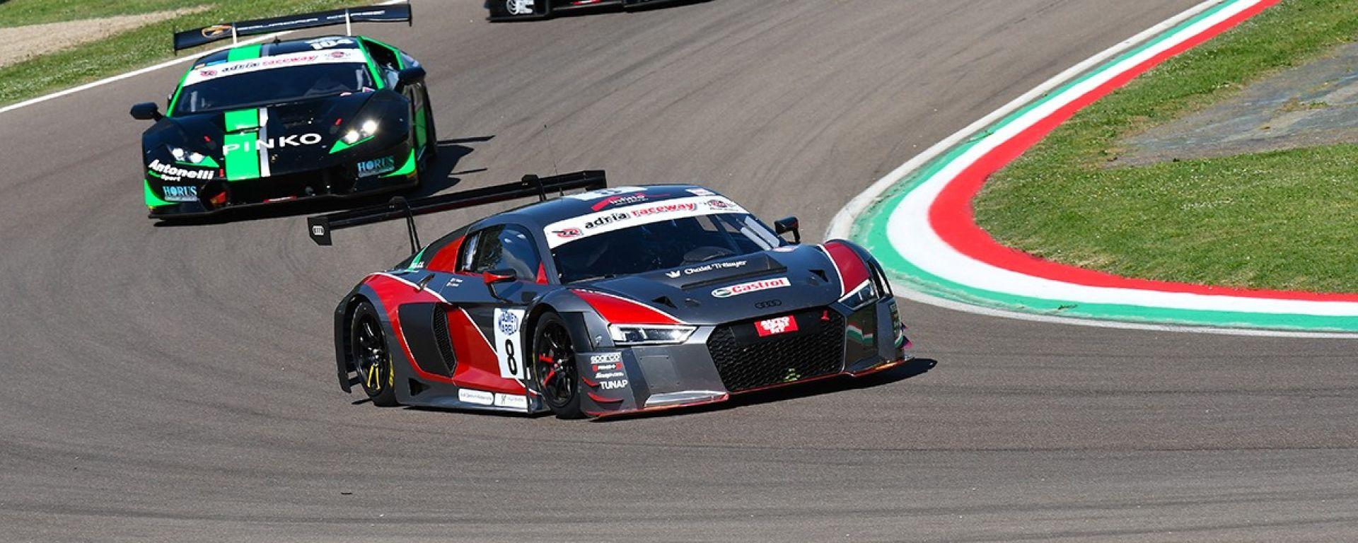Benoît Tréluyer e la sua Audi R8 LMS