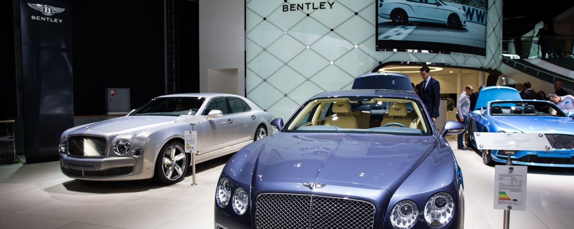 Bentley al salone di Francoforte 2017