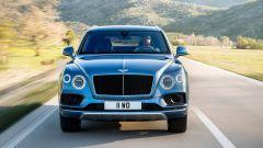 Bentley Bentaiga Diesel: la griglia anteriore si tinge di nero