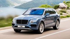 Bentley Bentaiga Diesel: la vista frontale