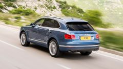 Bentley Bentaiga Diesel: la vista posteriore