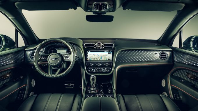 Bentley Bentayga 2020: la nuova plancia