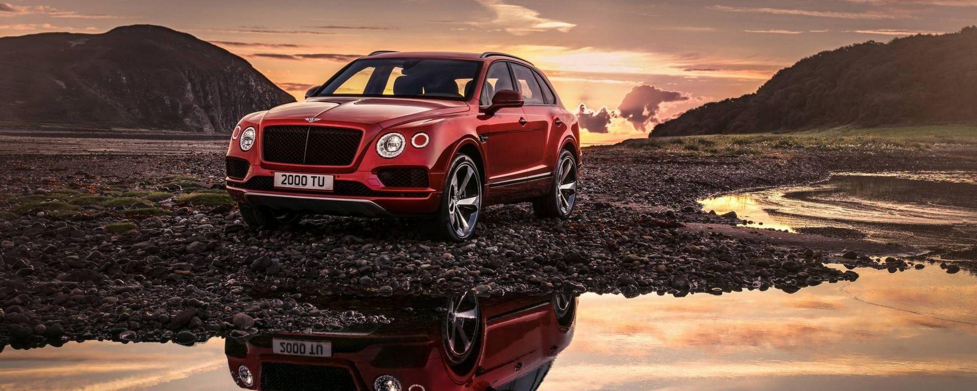 Bentley Bentayga: per il SUV pronto il V8 da 550 CV