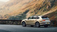 Bentley Bentayga Hybrid 2021: 449 CV per il SUV di lusso inglese