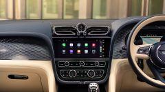Bentley Bentayga Hybrid 2021: arriva Apple CarPlay