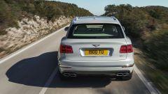 Bentley Bentayga Hybrid: il posteriore
