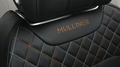 Bentley Bentayga Mulliner: i sedili sono rivestiti in morbida pelle