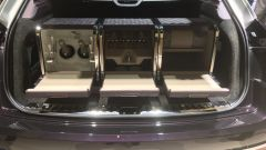 Bentley Bentayga Mulliner, Salone di Ginevra 2017, bagagliaio