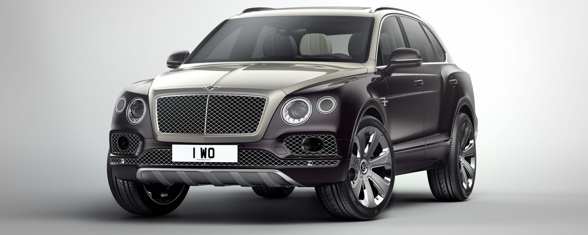 Bentley Bentayga Mulliner: vista 3/4 anteriore