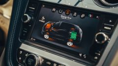 Bentley Bentayga PHEV: dettaglio display touch