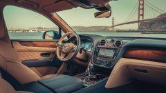 Bentley Bentayga PHEV: l'abitacolo