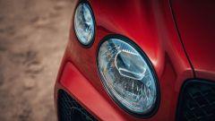 Bentley Bentayga S: i gruppi ottici anteriori oscurati