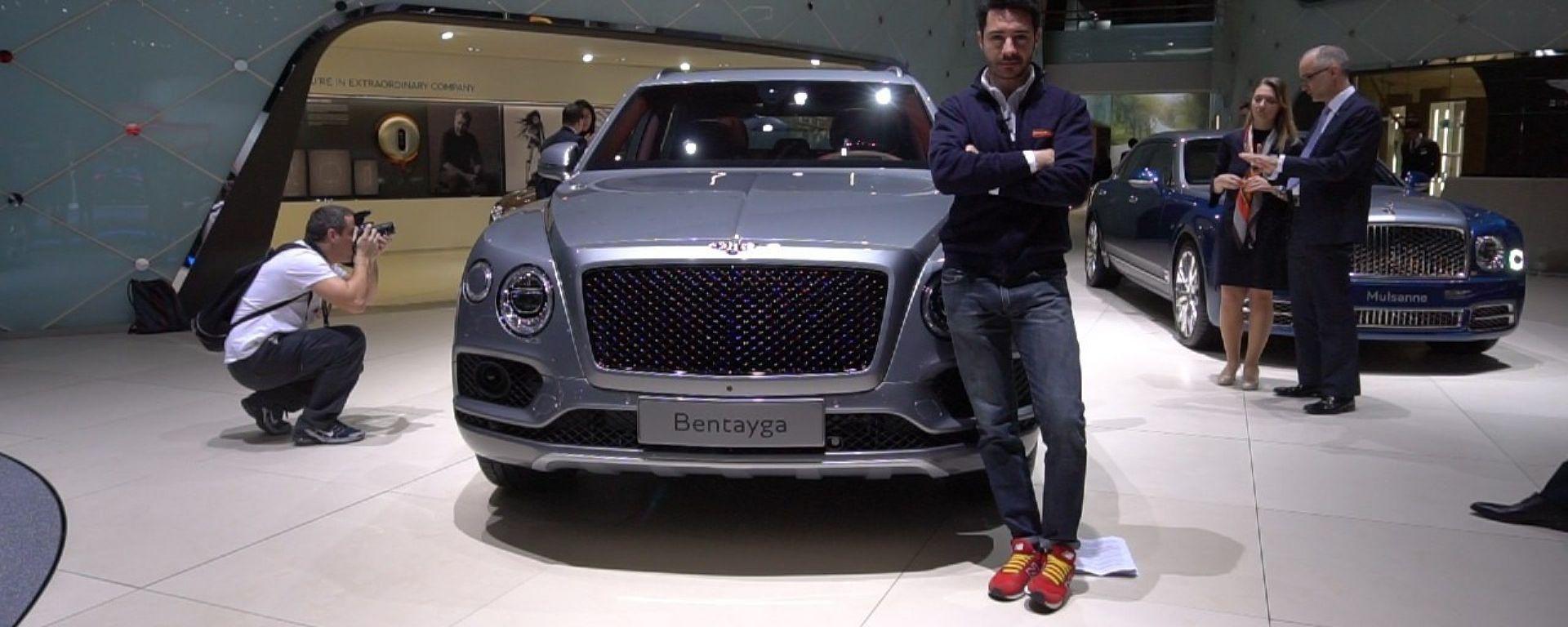 Bentley Bentayga, Salone di Ginevra 2018