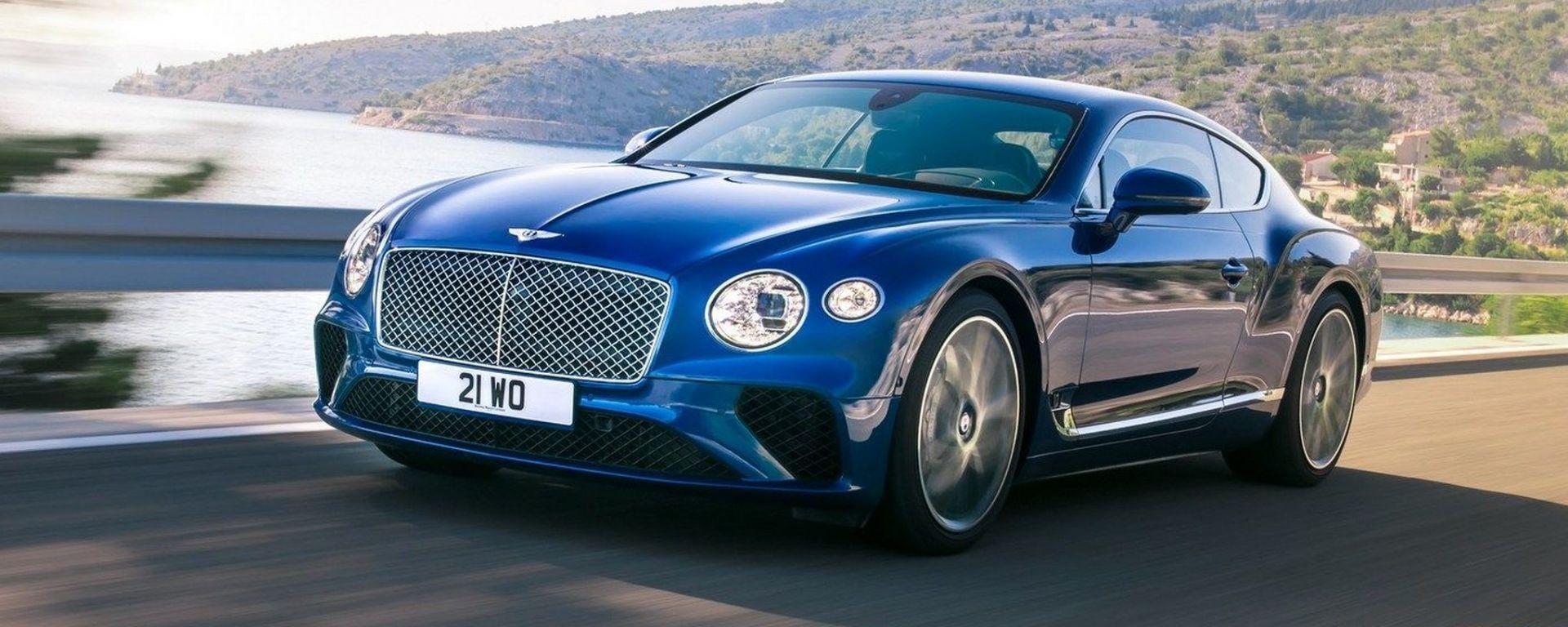 Bentley conferma: la prossima Continental GT sarà elettrica