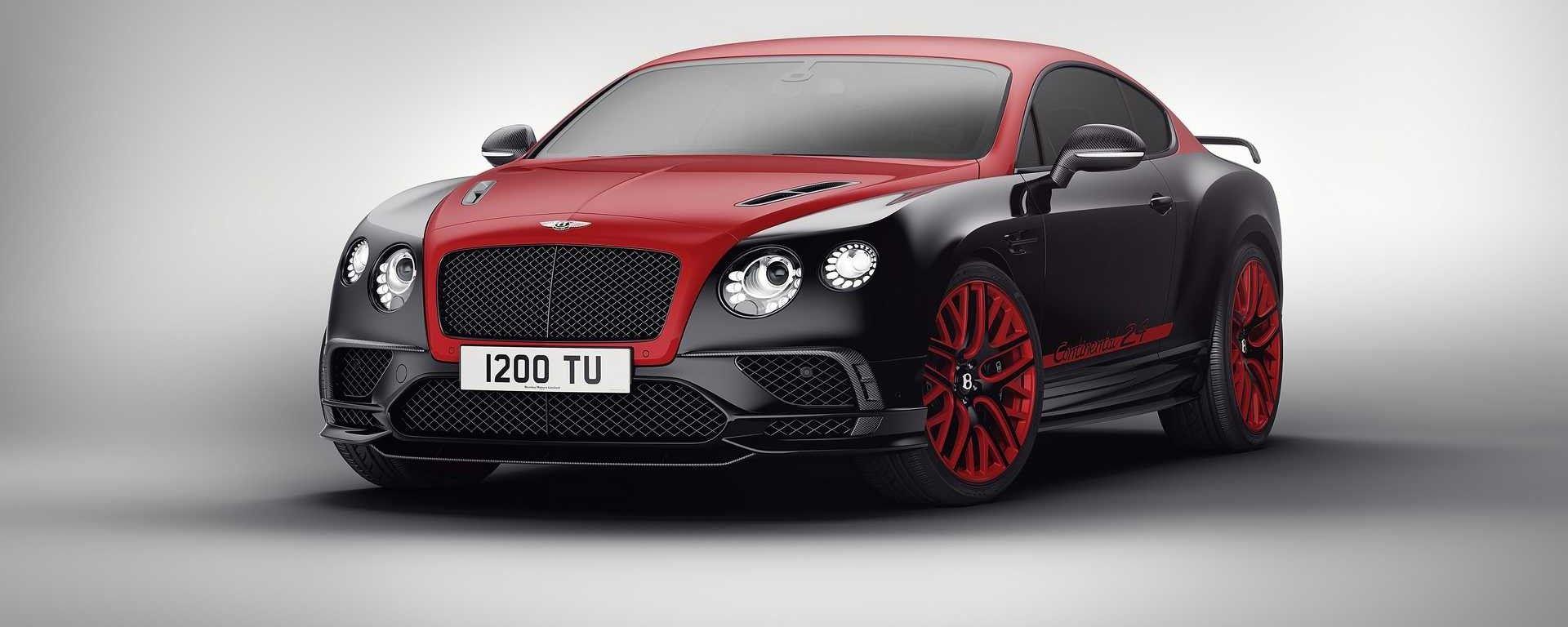 Bentley Continental 24 Edition: d'ispirazione motorsport