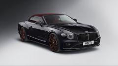 Bentley Continental GT Convertible Number 1 Nero Beluga: vista 3/4 anteriore