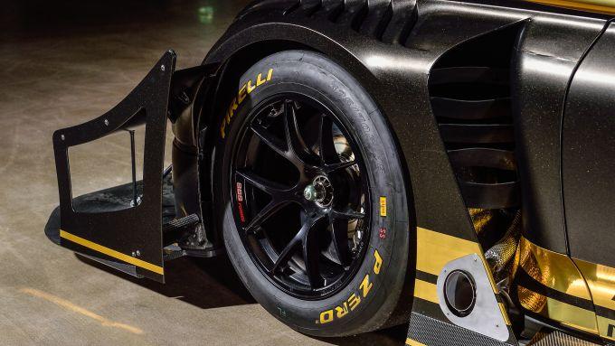 Bentley Continental GT Pikes Peak: il passaruota