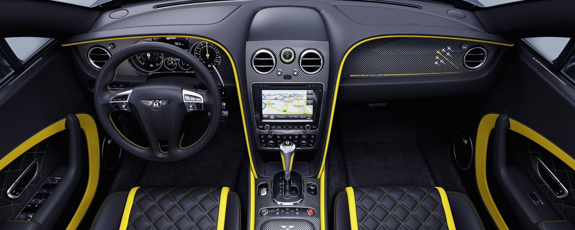 Bentley Continental GT Speed Brietling Jet Team: come è fatta?