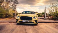 La Bentley Continental GT in Sicilia per un video di drifting