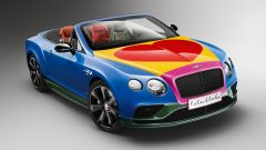 Bentley Continental GT V8 S Convertible pop art - Immagine: 2