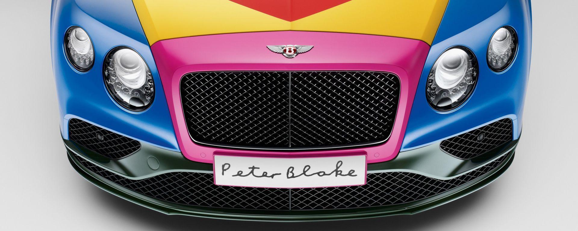 Bentley Continental GT V8 S Convertible pop art