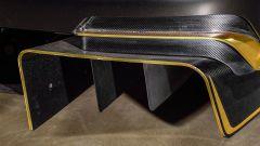 Bentley Continental GT3 Pikes Peak: dettaglio del diffusore