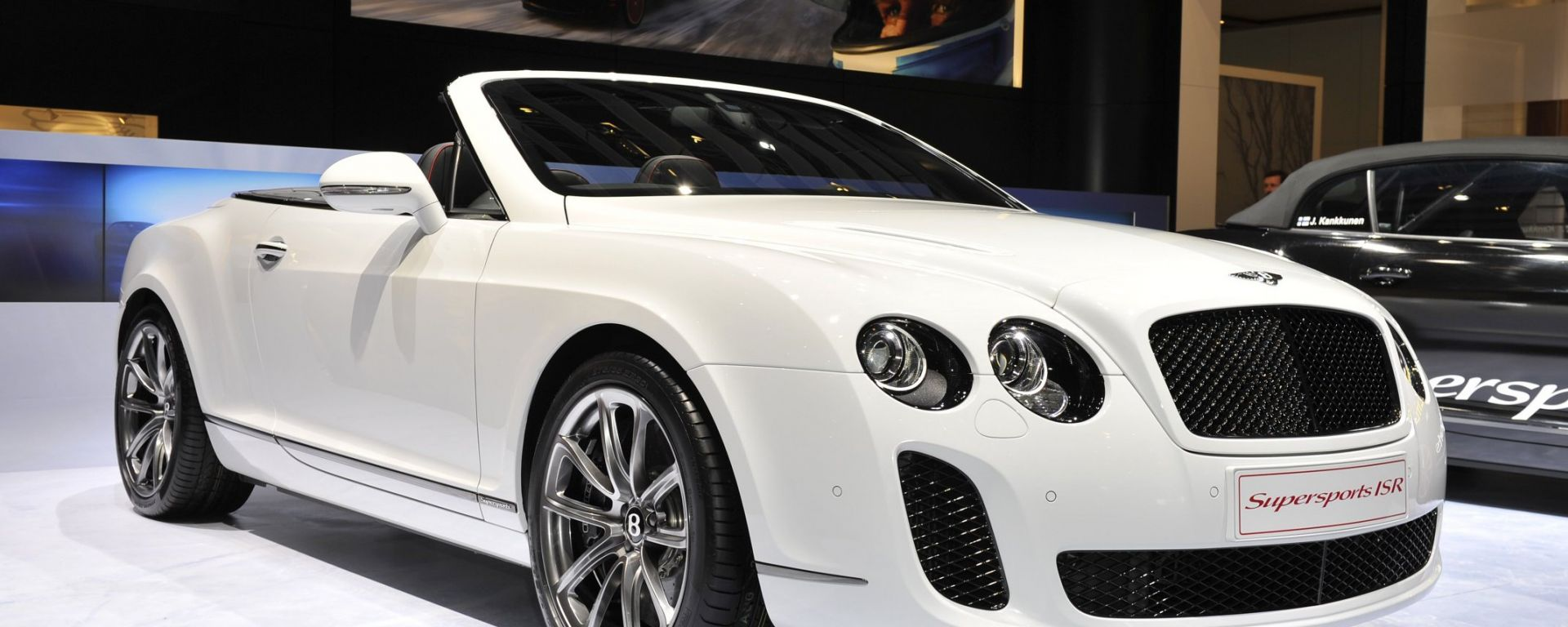 "Bentley Continental Supersports ""Ice Speed Record"""