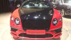 Bentley Continental Supersports, Salone di Ginevra 2017, Vista forntale
