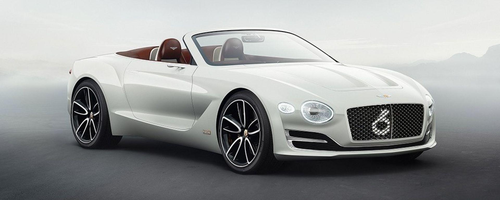 Bentley EXP 12 Concept: cabrio 100% elettrica