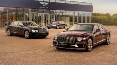 Bentley Flying Spur: le ultime tre generazioni a confronto
