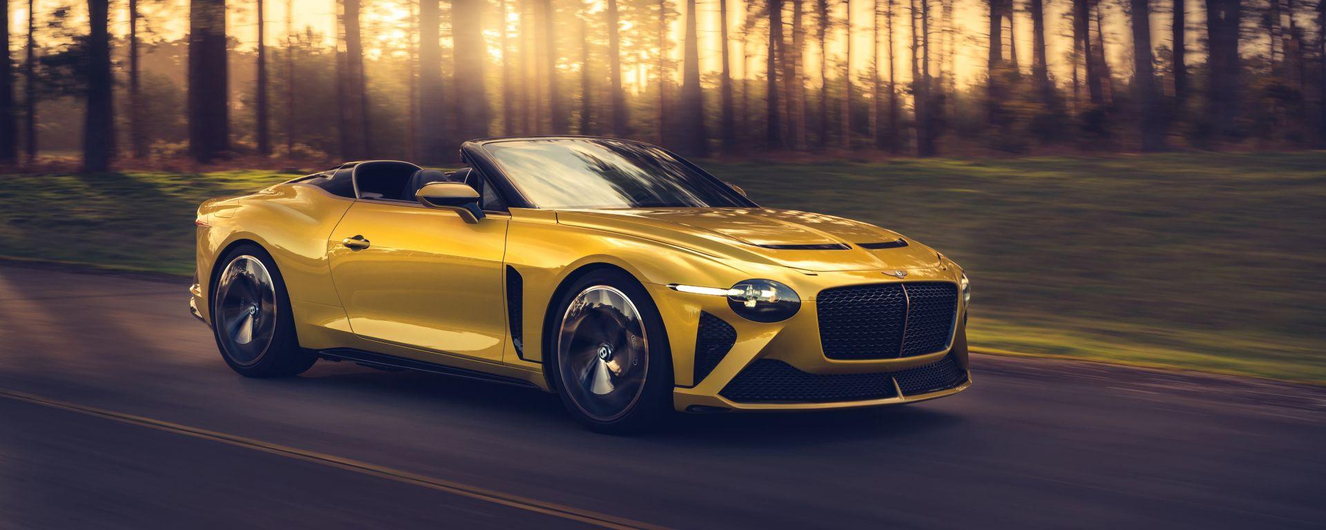 Bentley Mulliner Bacalar: 3/4 anteriore