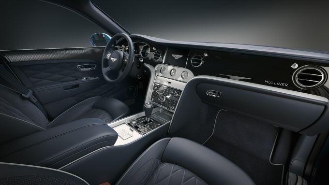 Bentley Mulsanne 6.75: dettaglio degli interni
