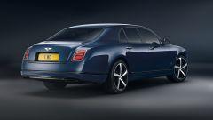 Bentley Mulsanne 6.75 Edition: il 3/4 posteriore