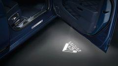 Bentley Mulsanne 6.75 Edition: il logo proiettato dai fari sottoporta