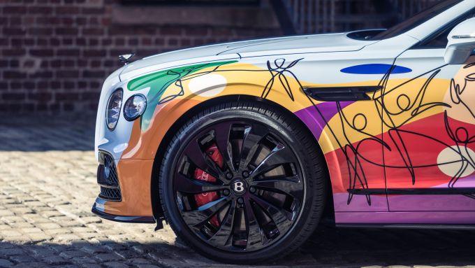 Bentley Unifying Spur a MIMO 2021: particolare del muso