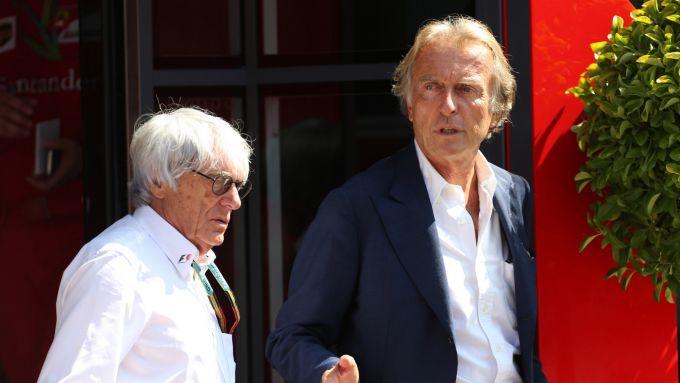 Bernie Ecclestone e Luca Cordero di Montezemolo