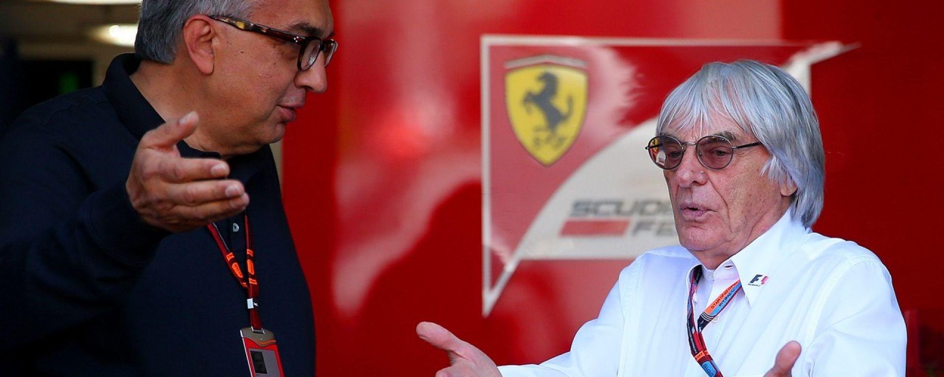 Bernie Ecclestone e Sergio Marchionne