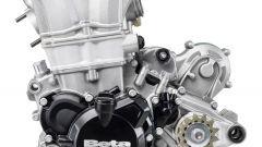 Beta Motorcycles gamma RR 2020, il motore 4T di lato