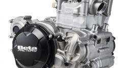 Beta Motorcycles gamma RR 2020, il motore 4T nella vista 3/4