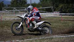 Beta Motorcycles gamma RR 2020, impegno del pilota