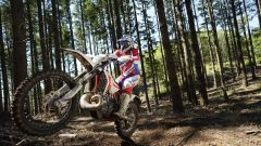 Beta Motorcycles gamma RR 2020, nel bosco