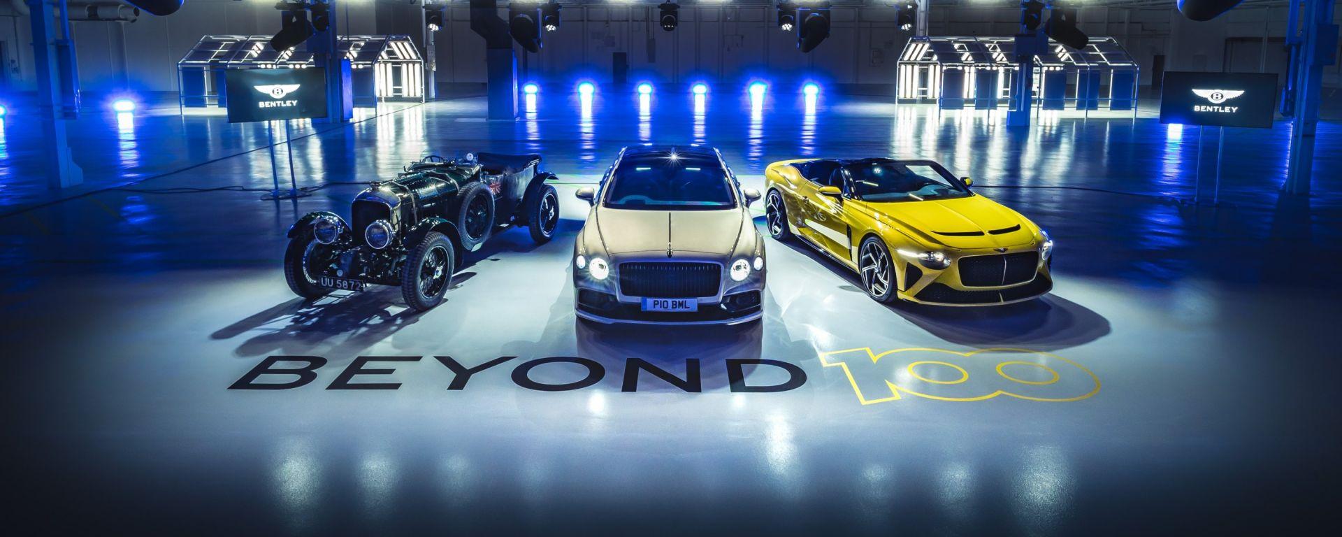 Beyond100, la strategia green di Bentley